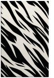 rug #273613 |  black abstract rug