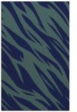 rug #273641 |  blue abstract rug