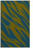 rug #273669 |  blue-green abstract rug