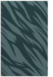 rug #273681    blue-green abstract rug