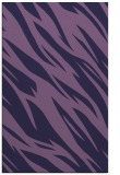rug #273705 |  blue-violet abstract rug