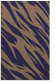 rug #273717    blue-violet abstract rug