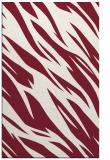 rug #273821    pink abstract rug