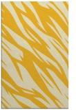 rug #273897 |  yellow abstract rug