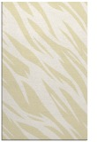 rug #273901 |  yellow abstract rug