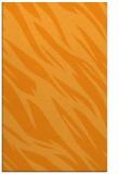 rug #273953 |  light-orange abstract rug