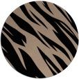 rug #273973   round black popular rug