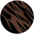 rug #273977 | round black abstract rug