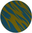 rug #274021 | round green abstract rug