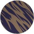 rug #274069 | round beige abstract rug