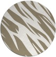 rug #274101 | round white abstract rug