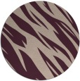 rug #274122 | round abstract rug