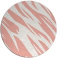 rug #274181 | round pink abstract rug