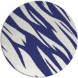 rug #274241 | round white abstract rug