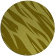 rug #274281 | round light-green abstract rug