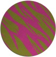 rug #274289 | round light-green abstract rug