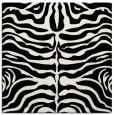 rug #274669 | square white stripes rug
