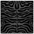 rug #274673   square black animal rug