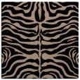 rug #274677   square black animal rug