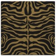 rug #274685 | square brown animal rug