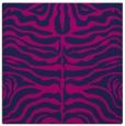 rug #274693   square blue animal rug