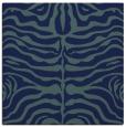 rug #274697 | square blue animal rug