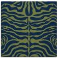 rug #274701   square green animal rug