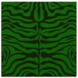 rug #274733 | square green animal rug