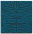 rug #274745 | square blue stripes rug
