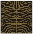 rug #274781 | square mid-brown animal rug