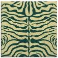 rug #274869 | square yellow animal rug