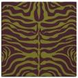 rug #274893 | square purple animal rug