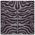rug #274901 | square purple animal rug