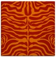 rug #274909 | square red popular rug
