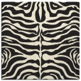 rug #274973 | square black animal rug
