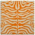 rug #274981 | square orange animal rug