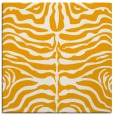 rug #275001 | square light-orange animal rug