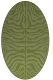 rug #275143 | oval animal rug