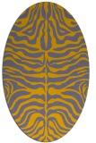 rug #275332 | oval stripes rug