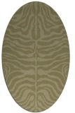 rug #275341 | oval light-green rug