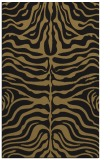 rug #275389 |  black stripes rug