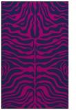 rug #275397 |  blue stripes rug