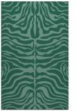 rug #275425 |  blue-green stripes rug