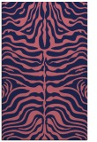 rug #275461 |  blue-violet animal rug