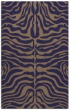 rug #275477 |  blue-violet animal rug