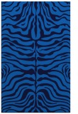rug #275537    blue animal rug
