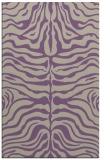 rug #275549 |  purple stripes rug