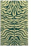 rug #275573 |  yellow stripes rug