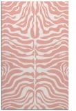rug #275589 |  pink stripes rug