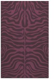 rug #275593 |  purple stripes rug